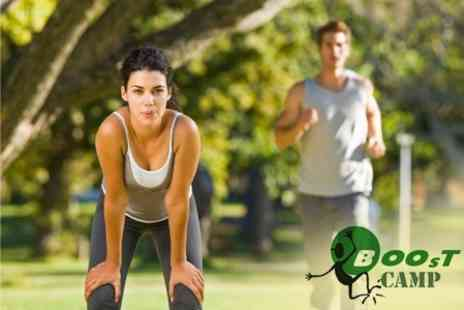 Boost Camp - Ten Outdoor Fitness Sessions - Save 62%