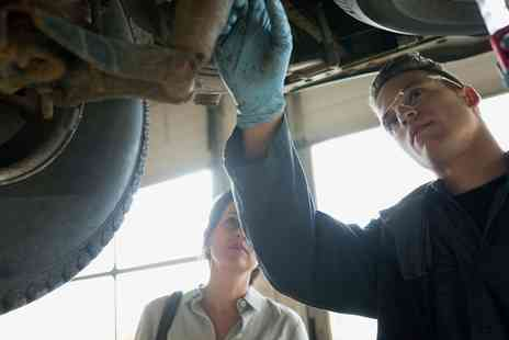 Collison Motoring Services - Car MOT or Service with Oil and Filter Change - Save 0%