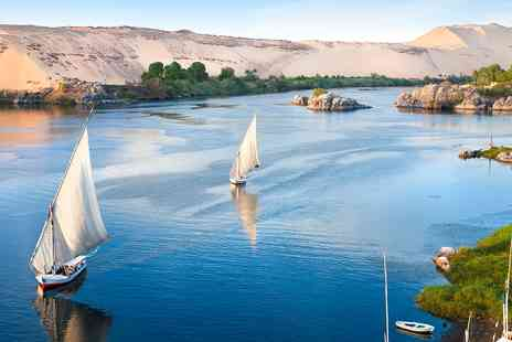2TemptU Travel - Ten night Nile cruise & Cairo stay including flights - Save 0%
