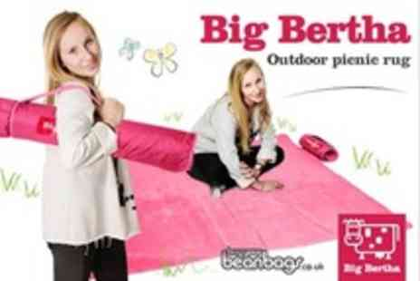 BuyYourBeanBags.co.uk - Two Big Bertha Chilli Billie Outdoor Blankets - Save 73%