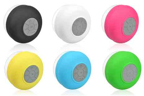 Groupon Goods Global GmbH - One or Two Apachie Bluetooth Shower Speakers - Save 0%
