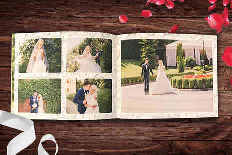 Unibind Photo Books - Personalised A4 guest book - Save 53%