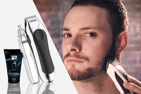 Blush Look - Wahl stubble, ear and nose hair trimmer keep that excess hair in check - Save 70%