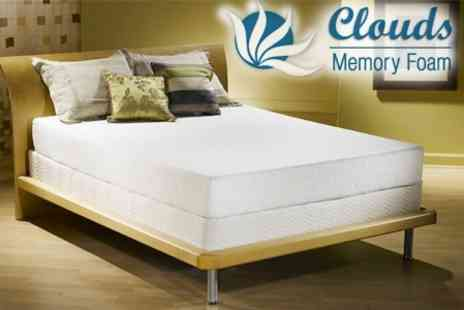 Clouds Memory Foam - One Super Deluxe Memory Foam Mattresses of Any Size - Save 79%