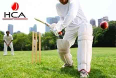 Harrow Cricket Academy - Four Day Childrens Summer Holiday Cricket Course - Save 61%