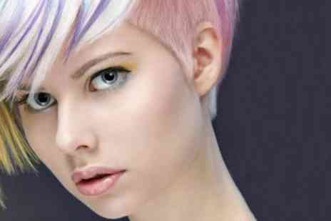 Majestic Hair and Beauty - Wash, Cut, Blow-Dry, Optional Half or Full Head of Highlights or Full Colour - Save 50%