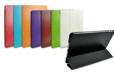 Groupon Goods Global GmbH - Medal Panel Case for iPad 2, 3, 4, Air, Air 2 or Mini with Optional Charge Cable - Save 0%