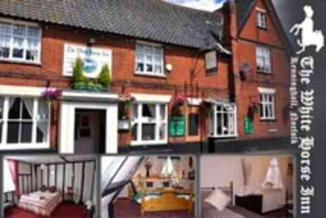 The White Horse Inn - In Kenninghall One Night Stay For Two With Breakfast and Wine on Arrival - Save 61%