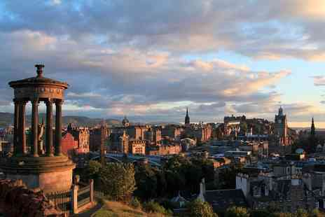 Britannia Hotels - Overnight Edinburgh stay for two with dinner and breakfast - Save 42%