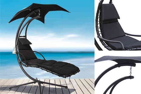Black Feather - Helicopter swing chair - Save 70%