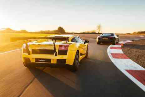 Drift Limits - 14 lap Lamborghini Gallardo driving experience - Save 50%