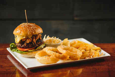 Life - Burger and fries each and a side of nachos to share for two - Save 50%