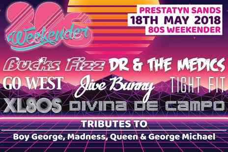 Pontins - Two night adult only 80s party weekend for two - Save 0%