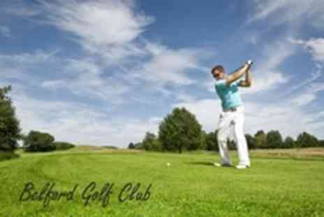 Belford Golf Club - Day of Golf For Two With Range Balls and Sandwich Each - Save 58%