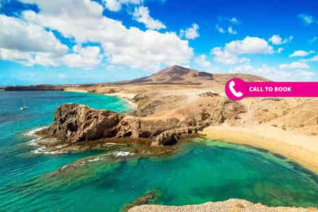 Super Escapes Travel - Three, five or seven night Lanzarote self catered apartment stay with return flights - Save 58%