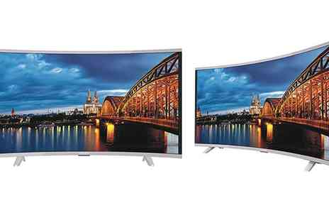 Groupon Goods Global GmbH - Akai 49 Inch Full HD Smart Curved TV With Free Delivery - Save 0%