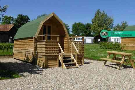 St. Helens Camping & Caravan Park - Two or three night camping pod break for up to four - Save 35%