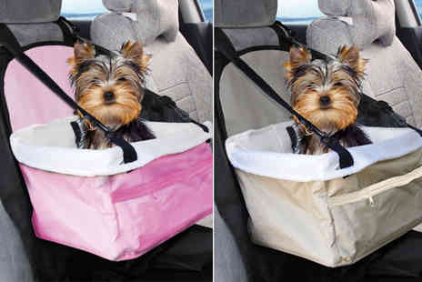 Zoozio - Pet car seat - Save 52%