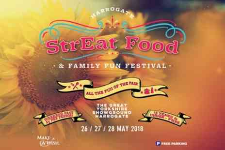Streat Pr - StrEat Food & Family Fun Festival Ticket on 26 to 28 May - Save 17%