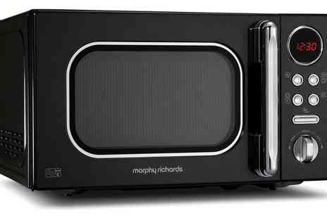 Groupon Goods Global GmbH - Morphy Richards Microwave in Choice of Option With Free Delivery - Save 0%