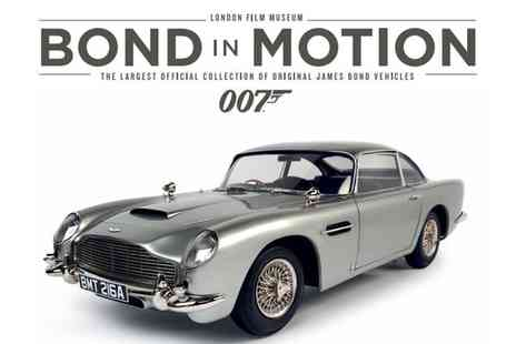 London Film Museum - Bond in Motion Ticket on 6 April to 6 July - Save 0%