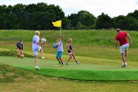 Wokingham Family Golf - Nine Holes of Footgolf for Up to Four - Save 0%