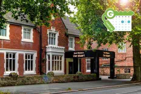 The Stuart Hotel - Double Room for Two with Breakfast, Wine and Option for Dinner - Save 46%