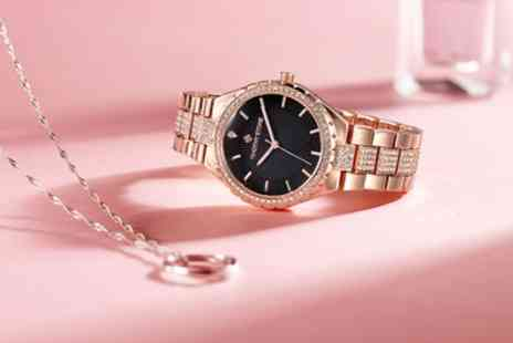 Deal Of Fame - One or Two Timothy Stone Gala Womens Watches with Crystals from Swarovski With Free Delivery - Save 87%