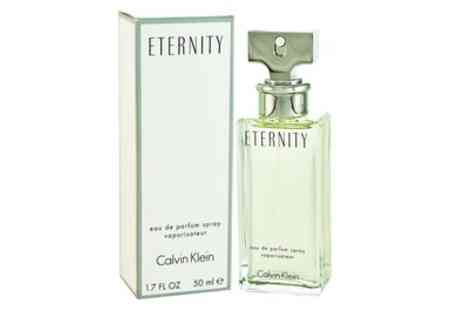Groupon Goods Global GmbH - 30 or 50ml Calvin Klein Eternity Eau de Parfum Spray for Women - Save 43%