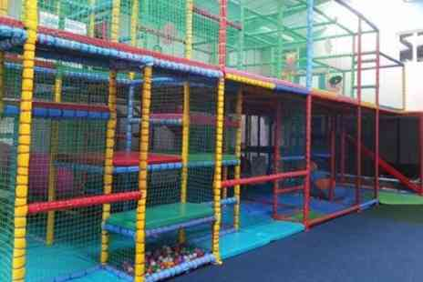 Manic Minors - Children Indoor Play Centre Entry for Up to Four - Save 56%
