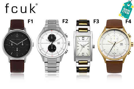 Brand Logic - Fcuk watch - Save 71%
