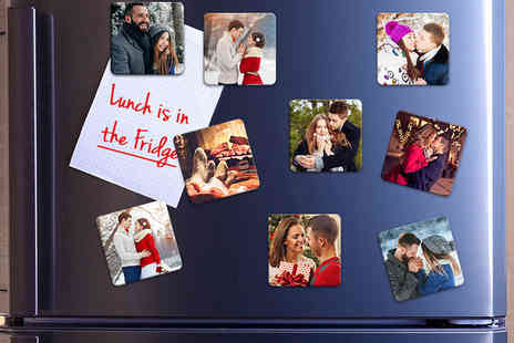 Photo Gifts - Set of 36 50mm x 50mm photo fridge magnets or set of 36 70mm x 70mm magnets - Save 84%