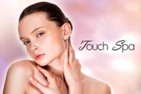 Touch Spa - Manicure and Pedicure Plus Luxury Facial - Save 69%