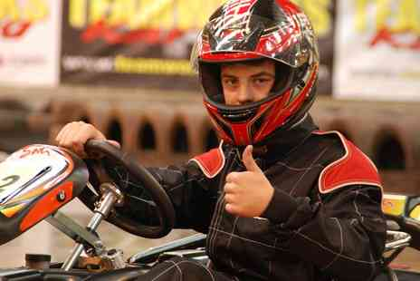 Teamworks Karting - 30 Minutes of Go Kart Racing for Up to Four - Save 0%