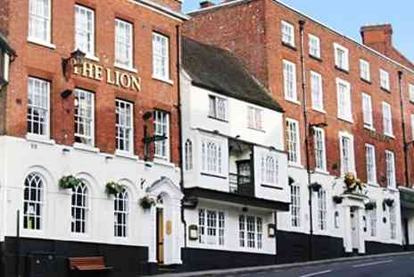 The Lion Hotel - Three course meal & bubbly for 2 - Save 58%