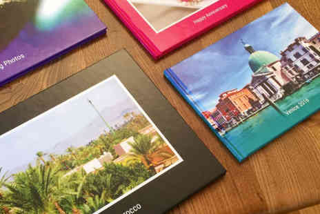 Popsa International - A5 or A4 printed hardback photobook with 23 pages - Save 75%