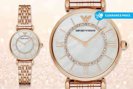 Wristy Business - Ladies Emporio Armani AR1909 watch - Save 67%