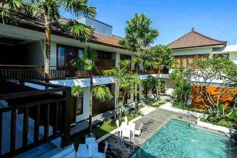 D djabu Hotel - Five or Seven night 4 Star half board Seminyak, Bali break for two people with return airport transfers - Save 39%