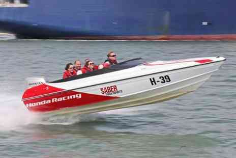Saber Powersports - One hour powerboating session for one or two - Save 71%
