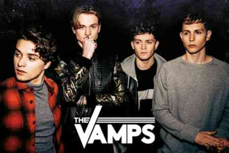 The Vamps - One reserved seating ticket to see The Vamps on 1 To 5 May - Save 49%