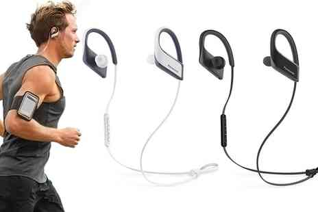 Groupon Goods Global GmbH - Panasonic RPBTS30 In Ear Bluetooth Water Resistant Sport Headphones - Save 0%