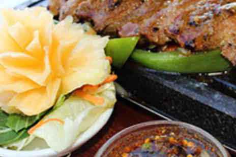Buddha Lounge - Starter, Main, Side, and Hot Drink Each for Two - Save 56%