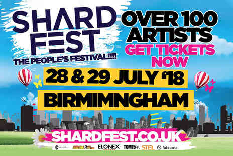 Shardfest 2018 - Concession ticket to Shardfest 2018 at Norman Chamberlain Fields - Save 50%
