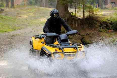 Lea Marston Events - Quad biking experience for one, two or four - Save 0%