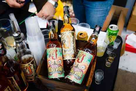 The Rum Festival - Entry to The Rum Festival, including a reggae rum punch cocktail, a branded souvenir glass, and brochure - Save 50%
