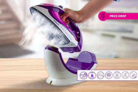 ViVo Technologies - Steam iron which works both cordless and corded, with a limited number available - Save 76%