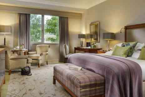 Druids Glen Resort - One or Two Nights Stay for Two with Breakfast, Prosecco, Dinner Credit and Spa & Golf Credit - Save 41%