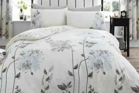 Groupon Goods Global GmbH - Camilla Reversible Duvet Cover Set in Choice of Colour - Save 72%