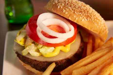 Real Burger - Burger Meal for Two or Four - Save 42%