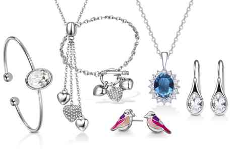 Neverland Sales - Mestige Jewellery with Crystals from Swarovski With Free Delivery - Save 0%